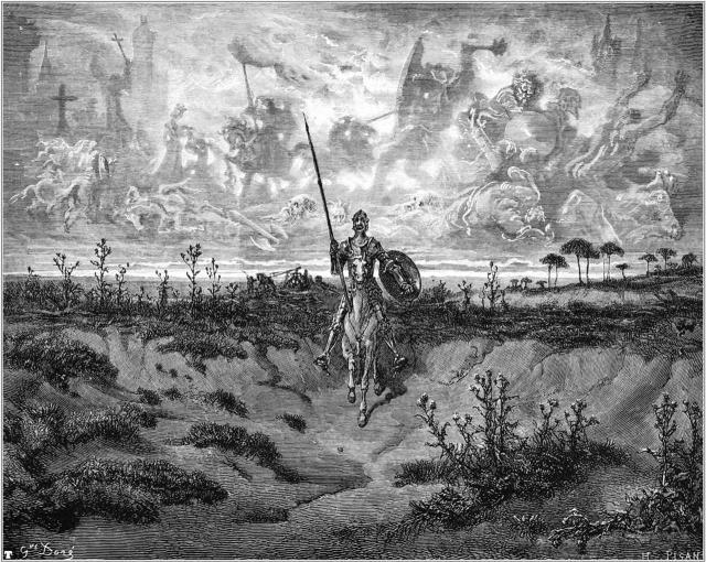La lezione immortale dell'irriducibile Alonso Quijano, Don Chisciotte de la Mancha